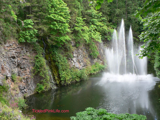 Butchart Gardens Vancouver Island Canada Ross Fountain