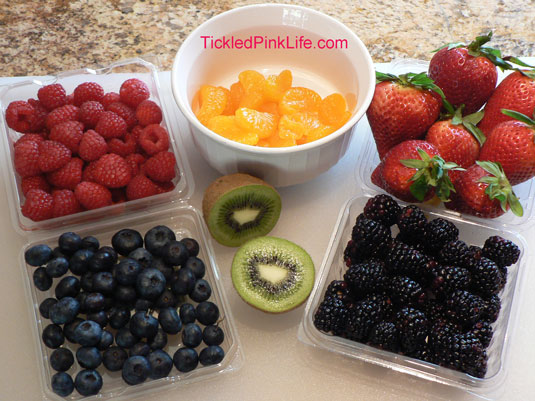 Easy fruit tarts-fresh berries are best if in season or canned fruit can be used out of season