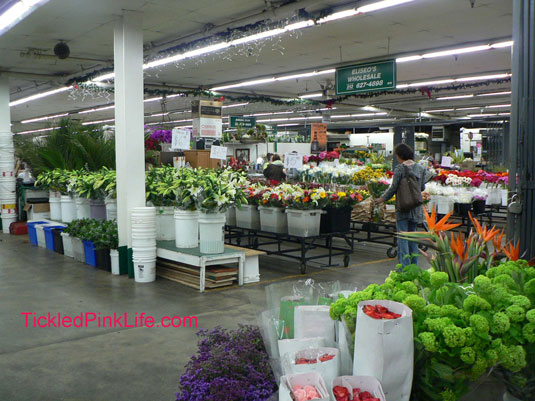 Los Angeles and Southern California Flower Markets-Choice Flowers