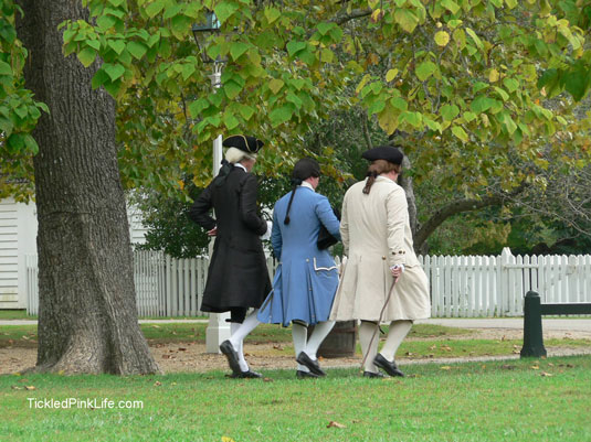 Colonial Williamsburg Virginia historical reenactment-patriots