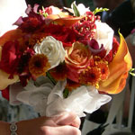 Thumbnail image for 31 Days: Fall Rose Calla Bouquet {Day 14}