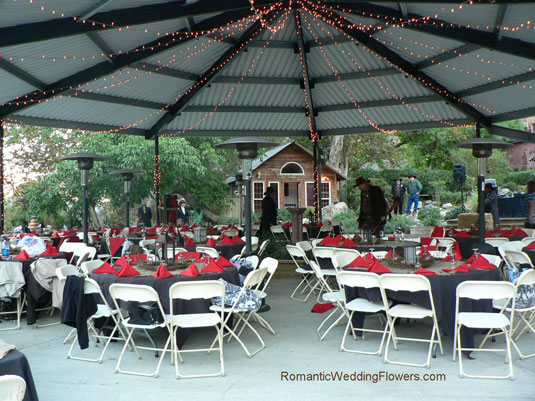 Green Mountain Ranch Lytle Creek reception pavilion