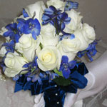 Thumbnail image for 31 Days: Blue Velvet Bouquet {Day 18}