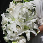 Thumbnail image for 31 Days: White Lily Rose Bouquet {Day 24}
