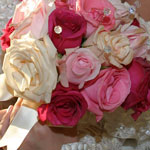 Thumbnail image for 31 Days: Pink Rose Crystal Bouquet {Day 26}