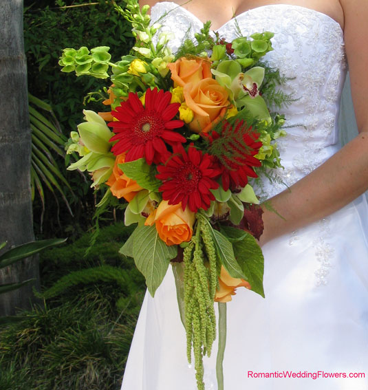 Cascading Fall Bridal Bouquets 31 Days Fall Cascade Bouquet