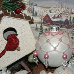 Thumbnail image for Bloggerette Sorority Christmas Ornament Swap