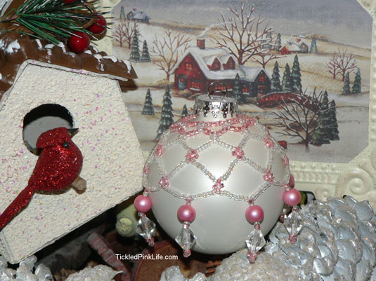 Bloggerette Sorority Christmas ornament swap