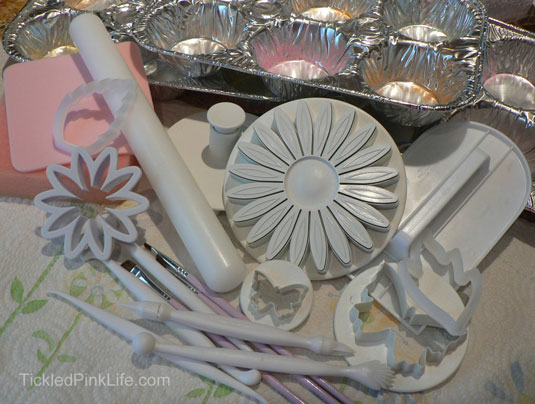 fondant tools cake decorating