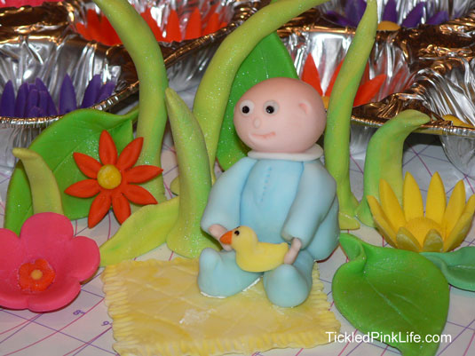 cake decorating fondant baby
