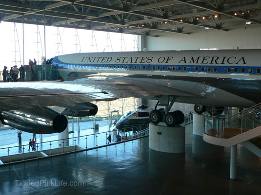 Ronald Reagan Presidential Library Air Force One Pavilion