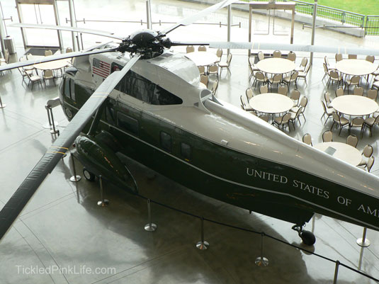 Ronald Reagan Presidential Library helicopter