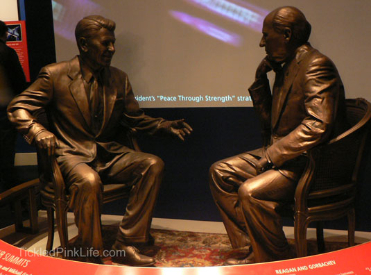Ronald Reagan Presidential Library Talks with Gorbachev