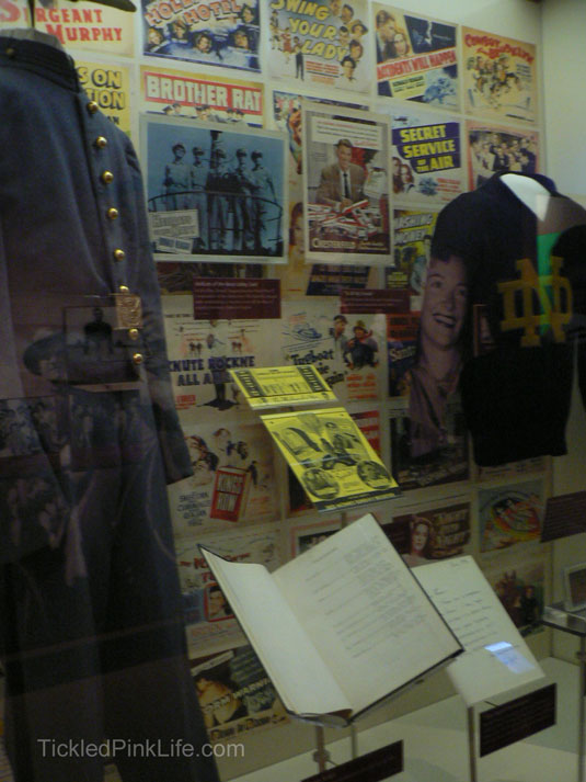 Ronald Reagan Presidential Library movie memorabilia