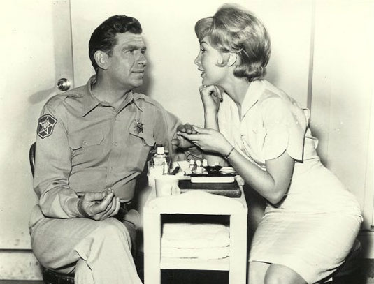 Andy Griffith Barbara Eden