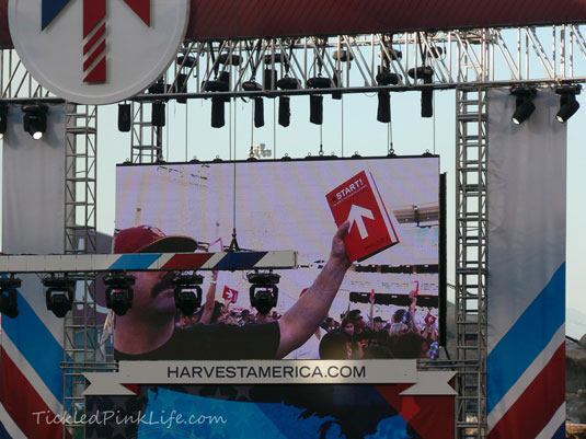 Harvest America 2012 Angel Stadium Anaheim Start Bible