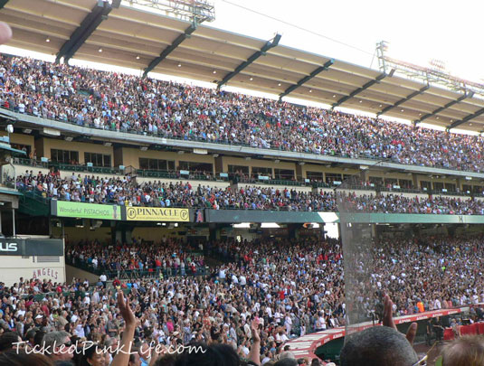 Harvest America 2012 Angel Stadium Anaheim