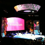 Thumbnail image for Women of Faith Conference 2012-Celebrate What Matters