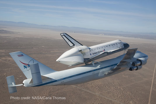 Endeavour NASA shuttle