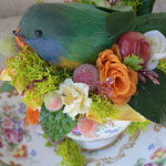 Thumbnail image for DIY: How to Make a Tea Cup Bird Nest Silk Floral Arrangement