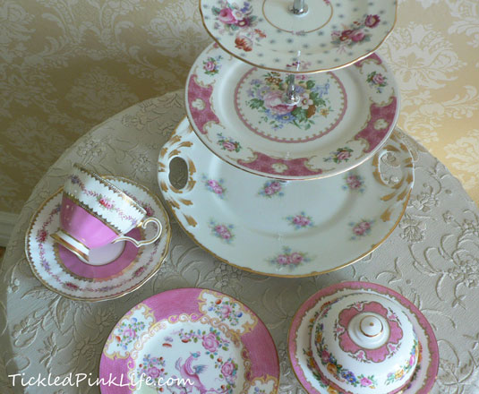 pinkchina2 & Exquisitely Pink Vintage China