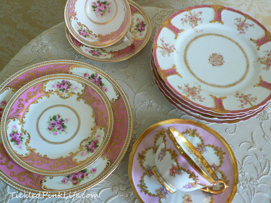 pinkchina4 & Exquisitely Pink Vintage China