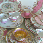 Thumbnail image for Exquisitely Pink Vintage China