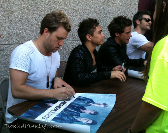 Anthem Lights signing autographs