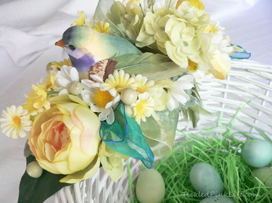 DIY Bird Nest Easter Basket