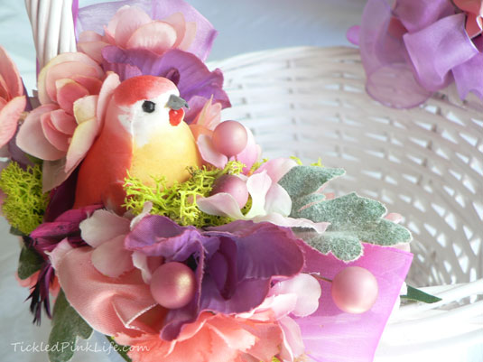 DIY Bird Easter Basket