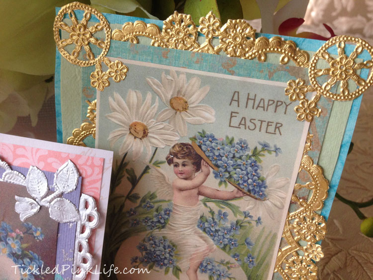 Vintage style Easter card