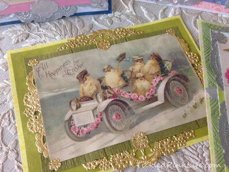 Victorian style Easter card